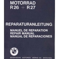 Repair Manual BMW R 26 and R 27