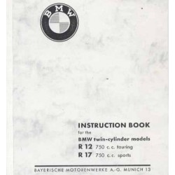 Instruction Book BMW R 12 and R 17